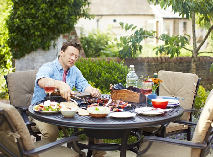 Hartman Jamie Oliver mesa rendonda para 6 | De Tropen