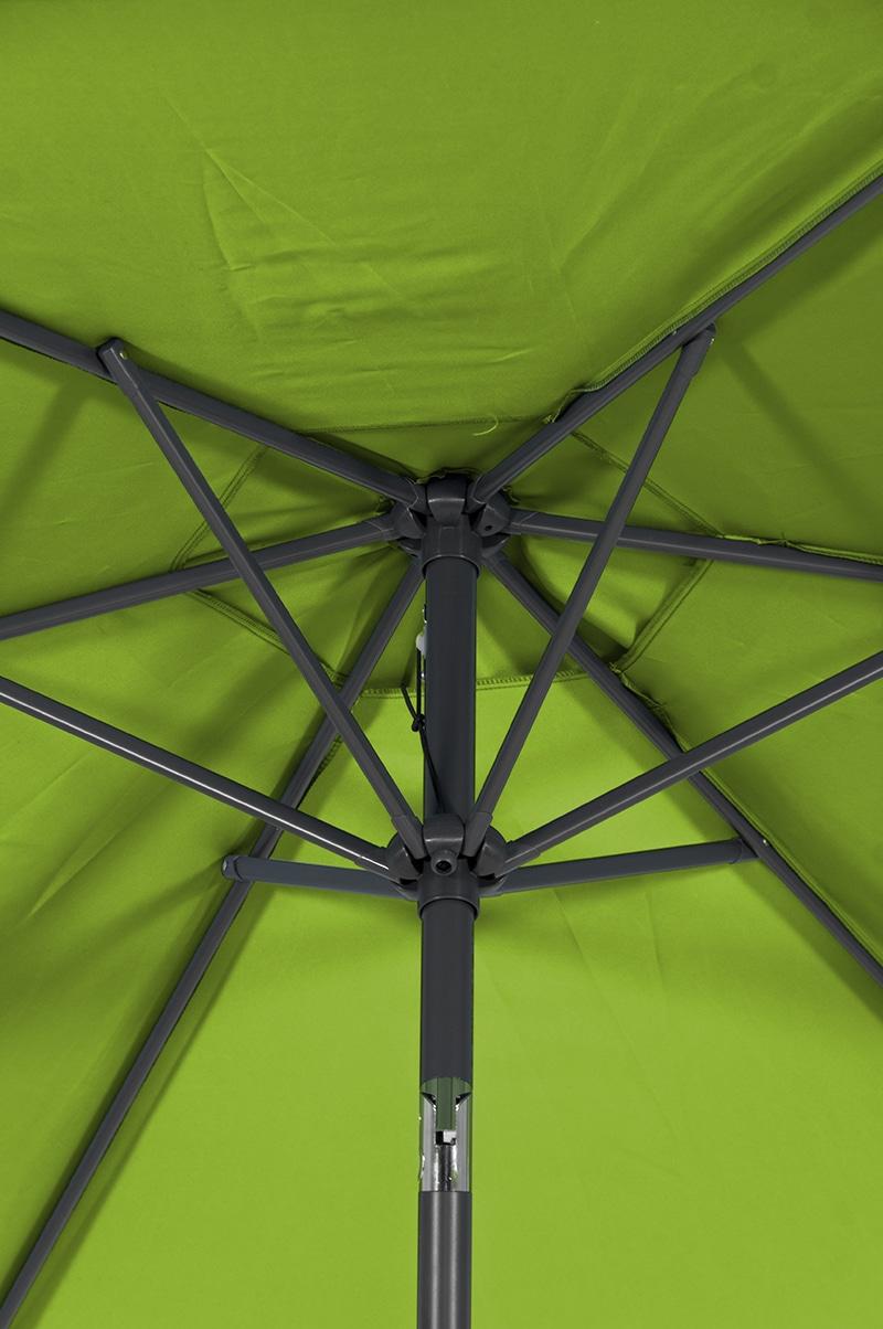 Hartman Parasol Solar Line R 300 Polyester.Hartman Solar Line Parasol New Green De Tropen