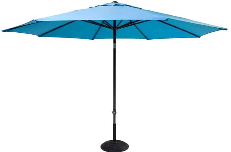 Hartman Parasol Solar Line R 300 Polyester.Hartman Solar Line Parasol New Blue De Tropen