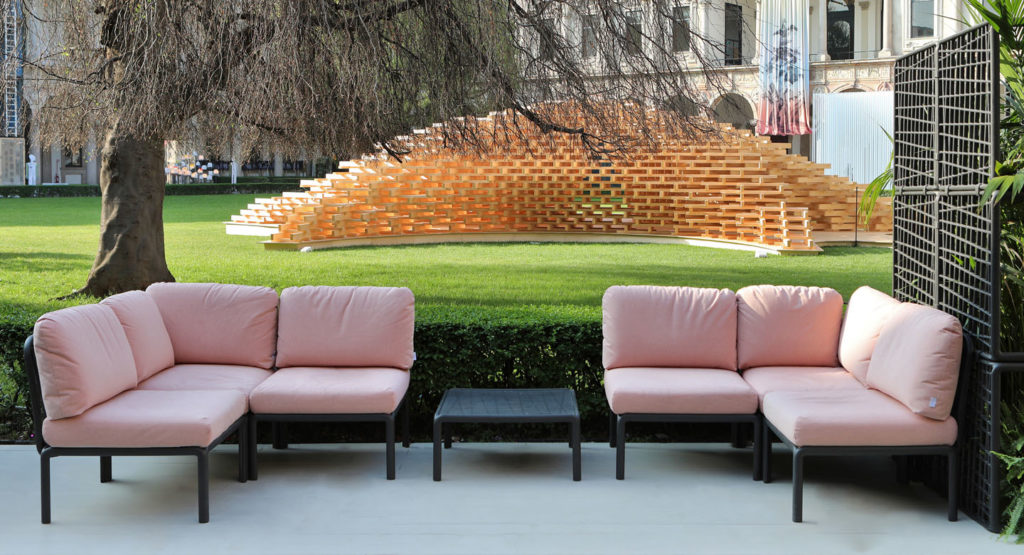 Sofá modular Komodo de Nardi