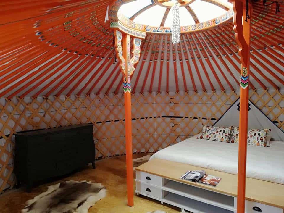 techo yurta