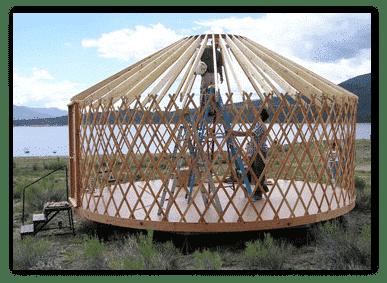 yurta montaje