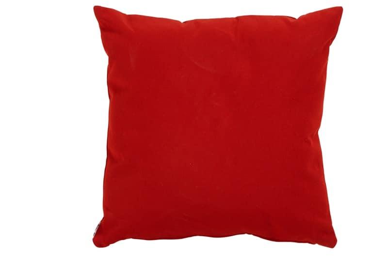 Havana red cushion