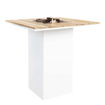 Cosi mesa de fuego de bar blanca