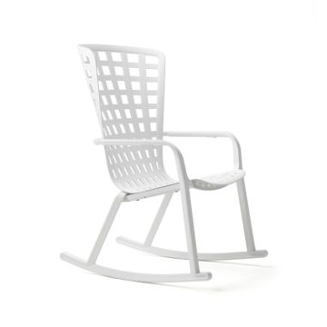 relax chair Folio rocking white